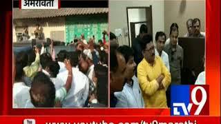 राज ठाकरे विदर्भाच्या दौ-यावर   अमरावती एक्सप्रेसने केला प्रवास   Raj Thackeray Vidarbha Tour-TV9