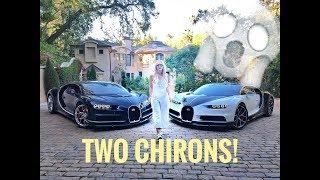 Two Bugatti Chirons & Private Jet!!