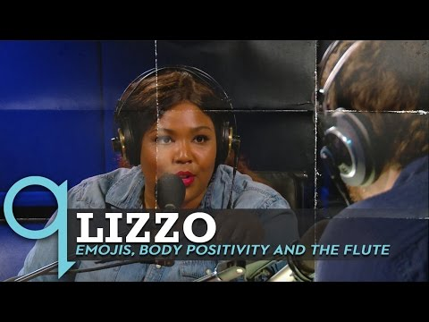 Lizzo Talks About Emojis, Body Positivity, and Playing The Flute