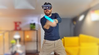 Recensione visore AR Lenovo Mirage Star Wars Jedi Challenges