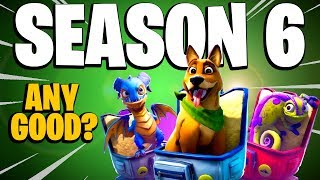 IS IT *ANY GOOD*??? Fortnite Battle Royale Season 6 Battle Pass, Pets, News and Overview
