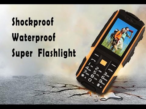 2.4 inch 2G Dual Card Strong Signal Shockproof Mobile Phone with Power Bank Function from TVC Mall