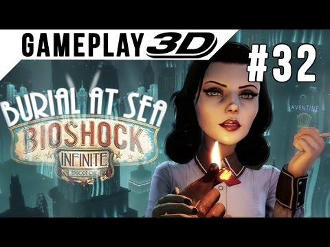 BioShock: Infinite #032 3D Gameplay Walkthrough SBS Side by Side (3DTV Games)