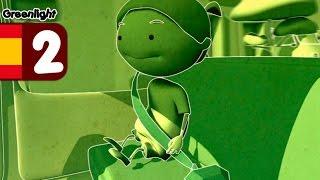 Luz verde - El Cinturón de Seguridad - dibujos animados, educación vial infantil