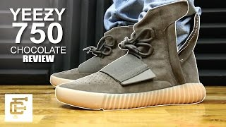 YEEZY BOOST 750 CHOCOLATE BROWN GUM REVIEW