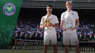 Novak Djokovic vs Kevin Anderson Final Highlights   Wimbledon 2018
