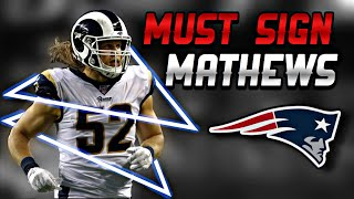 Why the Patriots MUST Sign LB Clay Mathews