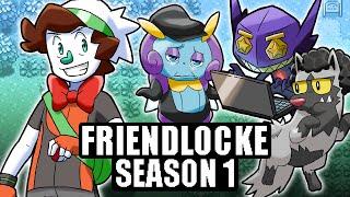 Nuzlocke BUT my friends control the Pokémon (Pokémon: Friendlocke SEASON 1 Marathon)
