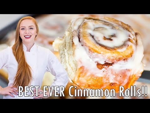 Cinnamon Rolls - The Best Recipe!