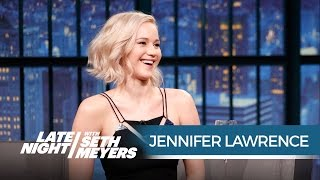Jennifer Lawrence on Her Friendship with Amy Schumer - Late Night with Seth Meyers