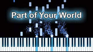 Little Mermaid Part of Your World Piano Tutorial