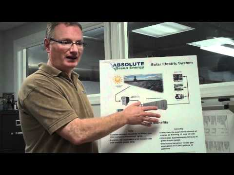 How a Solar PV (electric) system works - Absolute Green Energy Corp.
