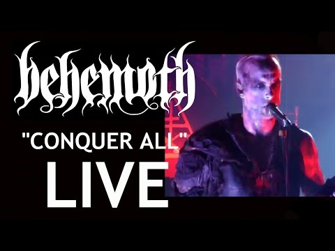 Behemoth-Conquer All-Live Video 720p hd- 2012