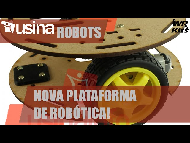 NOVO CHASSI PARA ROBÓTICA! | Usina Robots #001