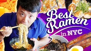 BEST Japanese Ramen Noodles in New York! MUST TRY Ramen Tour Part 3!