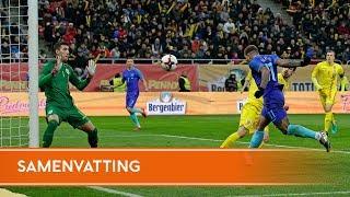 Highlights Roemenië - Nederland (14/11/2017)