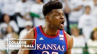 No. 3 Kansas vs. No. 1 Baylor    2019-20 College Basketball Highlights