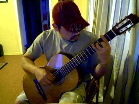 Los Sonidos del Silencio - guitarra sola - Jose Garcia