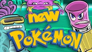 Creating NEW Pokémon! [ Drawing Challenge ]