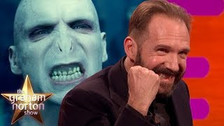 Ralph Fiennes Discusses Playing Voldemort - The Graham Norton Show