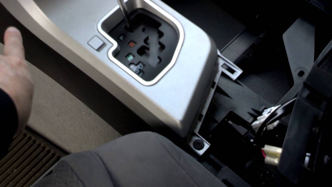 How To Remove Center Console Toyota Tundra