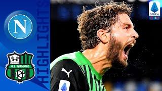 Napoli 0-2 Sassuolo   Sassuolo Climb To Second Thanks To A Late Lopez Strike!   Serie A TIM