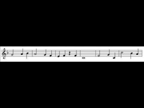 Titanic-Partitura y audio.