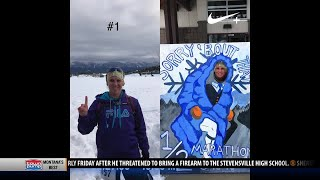 Bozeman woman faces cancer with inspiring year of half-marathons