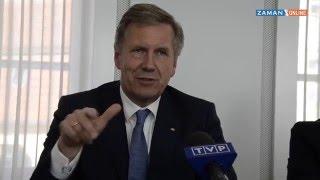 Christian Wulff Türkiye'ye Vize muafiyeti hakkında ne dedi