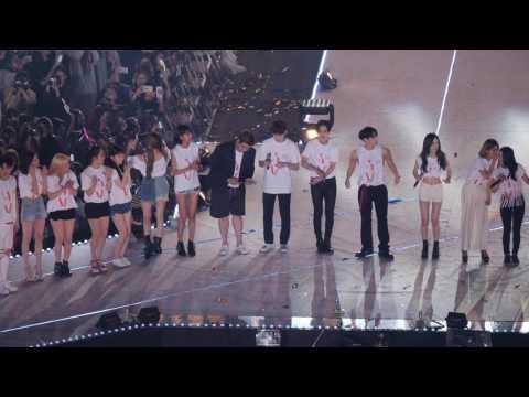 170708 SM콘서트 : 빛 - Ending 무대