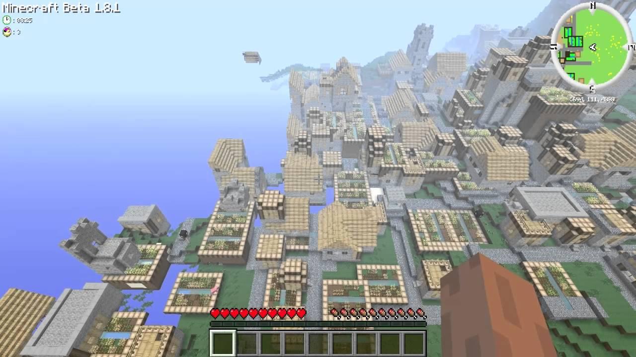 Minecraft Huge Village Seed Ps3 - #traffic-club