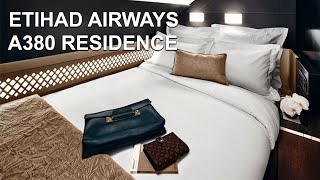 Etihad Airlines A380 First Class Residence