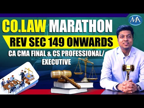 video Corporate Law and Compliance By CA Mohit Agarwal CMA Final Regular