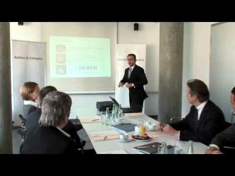 Batten & Company (BBDO Consulting) stellt sich und seinen neuen Beratungsansatz SEVEN. auf N24 vor