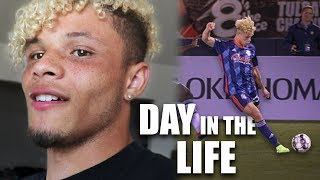 Day in the Life of a Professional Footballer | DJ Dean Vlog