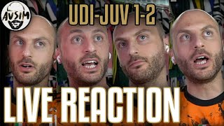 Udinese-Juventus 1-2 live reaction ||| Avsim Zoom