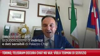 Torino, Telegram oscura chat no vax: viola termini servizio