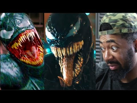 VENOM - Official Trailer (HD) - REACTIONS & COMPARISON