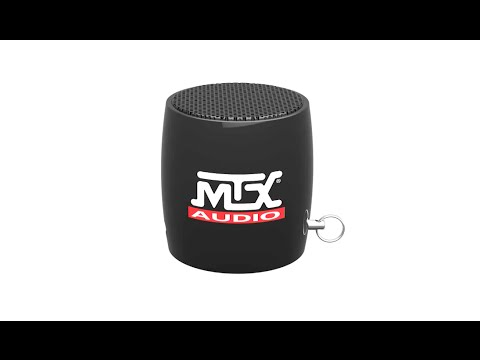 MTX Audio Sound Shot BlueTooth Speaker