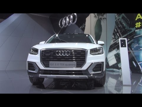 Audi Q2 Design 2.0 TDI Quattro S Tronic 140 kW (2016) Exterior and Interior in 3D