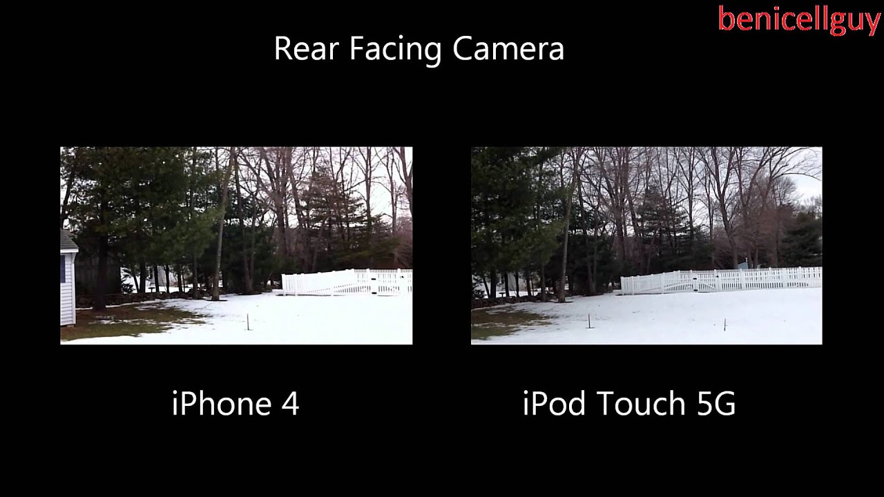 Ipod touch 6 vs iphone 5s camera