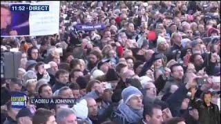 Les fans de Johnny Hallyday reprennent en masse