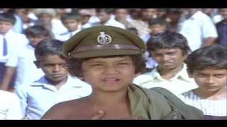 Repati Pourulu Movie | Vijayshanti Inspiring Kids Action Scene | Rajasekhar,Vijayashanti