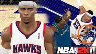 NBA 2K11 MyPLAYER #8 - True Scoring Machine! DUNKING ON CENTERS!!