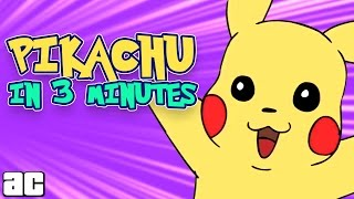 Pikachu Storyline in 3 Minutes and MORE Pokemon Cartoons!!! | Video Games In 3 | @Arcade Cloud