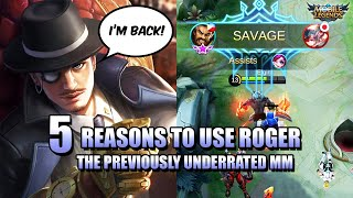 ROGER META IS REAL - 5 REASONS TO USE ROGER IN MOBILE LEGENDS: BANG BANG