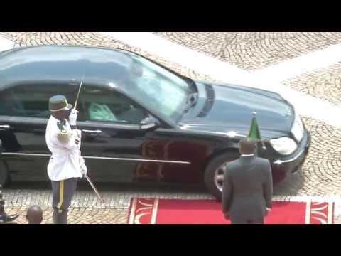Visite Officielle au Cameroun de Monsieur Moussa Faki Mahamat, Président de la Commission de l'Union Africaine.