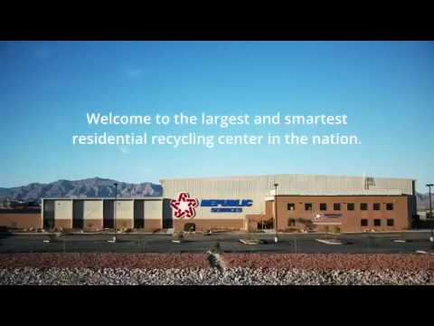 Largest Smartest Residential Recycling Center in North America