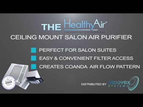 Healthy Air® Ceiling Mount Air Purifier