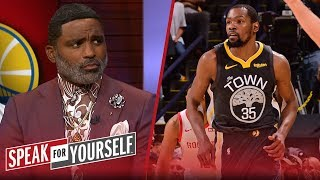 KD needs to be 'challenged' before comparing to LeBron — Cuttino Mobley | NBA | SPEAK FOR YOURSELF